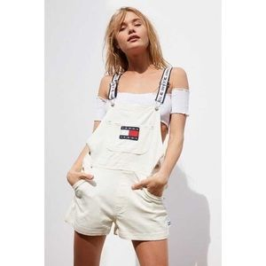 Tommy Hilfiger Denim Jeans Short Overall XS